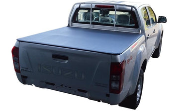 Isuzu D-Max (July 2012 Onwards) Crew Cab with Headboard ClipOn Tonneau Cover