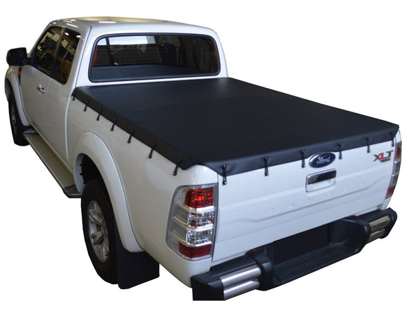 Mazda BT-50 (2007 to Oct 2011) Freestyle Cab Bunji Tonneau Cover