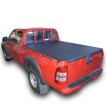 Mazda BT-50 (2007 to Oct 2011) Freestyle Cab with Grab Rails Bunji Ute/Tonneau Cover