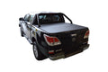 Mazda BT-50 (Nov 2011 Onwards) Dual Cab with Factory Sports Bars ClipOn Tonneau Cover