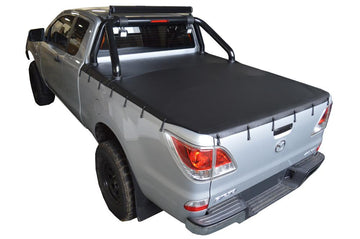 Mazda BT-50 (Nov 2011 Onwards) Freestyle Cab with Factory Sports Bars Bunji Ute/Tonneau Cover
