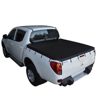 Mitsubishi Triton ML (2006 to Sept 2009) Double Cab Bunji Tonneau Cover
