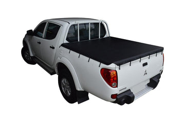 Mitsubishi Triton MN (Oct 2009 to June 2015) Double Cab with Headboard Bunji Ute/Tonneau Cover