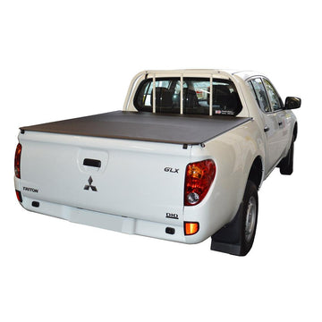 ClipOn Ute/Tonneau Cover for Mitsubishi Triton MN (Oct 2009 to June 2015) Double Cab suits Headboard