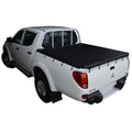 Mitsubishi Triton MN (Oct 2009 to June 2015) Double Cab with Headboard and Over Rail Tub Liner Bunji Ute/Tonneau Cover