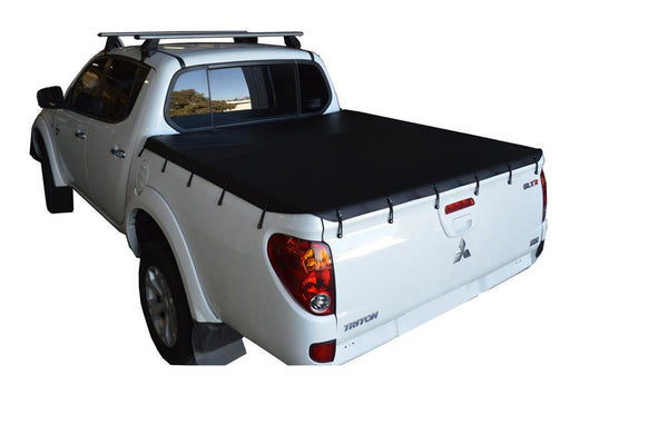 Mitsubishi Triton MN (Oct 2009 to June 2015) Double Cab Bunji Tonneau Cover