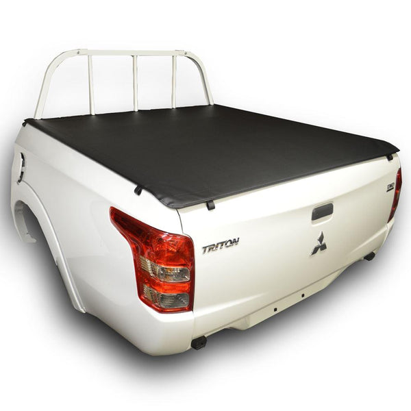 Mitsubishi Triton MR (2019 Onwards) Double Cab with Headboard ClipOn Tonneau Cover