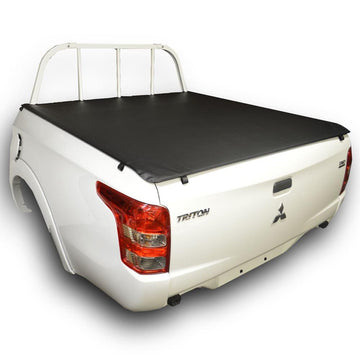Mitsubishi Triton MQ (May 2015 to 2018) Double Cab with Headboard ClipOn Tonneau Cover