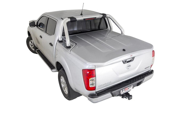 Nissan Navara NP300/D23 (July 2015 Onwards) Dual Cab with Factory Sports Bars Single Center Lock Premium Hard Lid