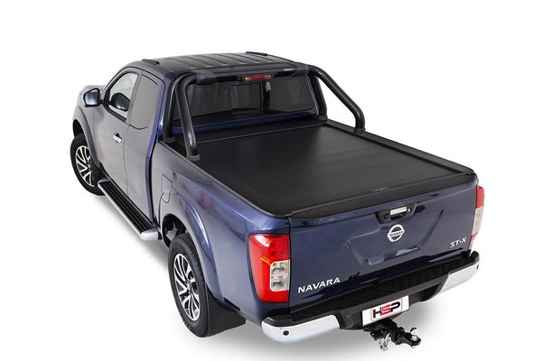 Nissan Navara NP300/D23 (July 2015 Onwards) King Cab with Factory Sports Bars Roll R Cover