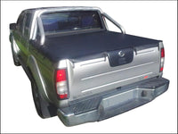 Nissan Navara D22 ST-R (Nov 2001 to 2008) Dual Cab with Factory Sports Bars Bunji Tonneau Cover