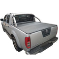 Nissan Navara D40 ST-X (Spanish Built)(2006 to 2008) Dual Cab with Factory Sports Bars ClipOn Tonneau Cover