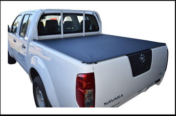 Nissan Navara D40 RX (Thai Built)(2009 to June 2015) Dual Cab with Headboard ClipOn Tonneau Cover