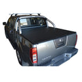 Nissan Navara D40 ST (Thai Built)(2009 to June 2015) Dual Cab with Factory Sports Bars ClipOn Ute/Tonneau Cover