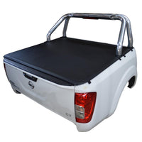 Nissan Navara NP300/D23 (July 2015 Onwards) Dual Cab with Factory Sports Bars ClipOn Tonneau Cover