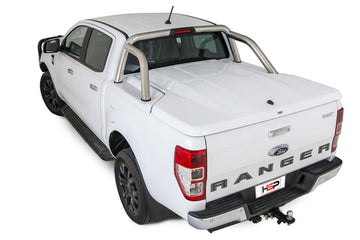 Ford Ranger/Raptor PXI, PXII, PXIII (Nov 2011 Onwards) Double Cab with Factory Sports Bars Single Center Lock Premium Hard Lid