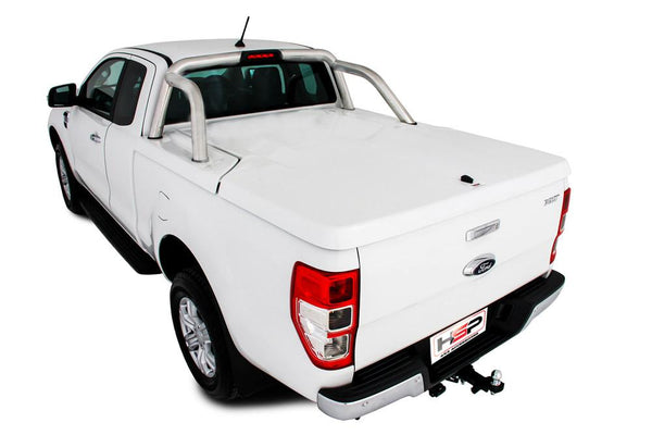 Ford Ranger/Raptor PXI, PXII, PXIII (Nov 2011 Onwards) Super Cab with Factory Sports Bars Single Center Lock Premium Hard Lid