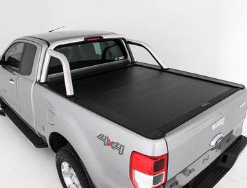 Ford Ranger/Raptor PXI, PXII, PXIII (Nov 2011 Onwards) Super Cab with Factory Sports Bars Roll R Cover