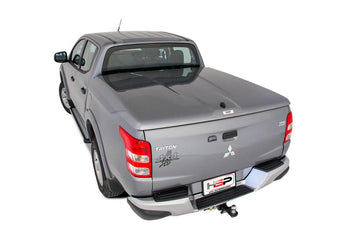 Mitsubishi Triton MQ, MR (May 2015 Onwards) Double Cab Single Center Lock Premium Hard Lid