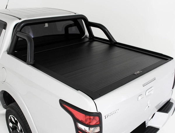 Mitsubishi Triton MQ, MR (May 2015 Onwards) Double Cab with Factory Sports Bars Roll R Cover