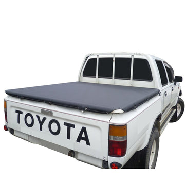 Toyota Hilux J-Deck (1983 to 1988) Double Cab Rope Tonneau Cover