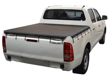 Toyota Hilux J-Deck (1989 to 1997) Double Cab Bunji Tonneau Cover