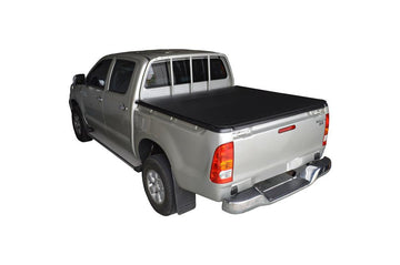 Toyota Hilux J-Deck (Apr 2005 to Sept 2015) Double Cab with Headboard and Over Rail Tub Liner ClipOn Ute/Tonneau Cover