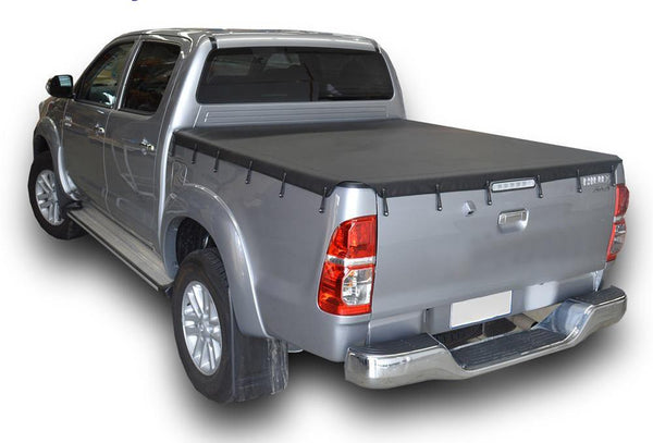 Toyota Hilux SR5 A-Deck (1998 to Mar 2005) Double Cab Bunji Tonneau Cover
