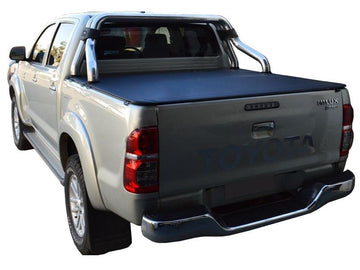 Toyota Hilux SR5 A-Deck (Apr 2005 to Sept 2015) Double Cab with Factory Sports Bars ClipOn Ute/Tonneau Cover