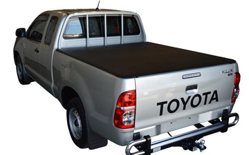 ClipOn Ute/Tonneau Cover for Toyota Hilux A-Deck (Apr 2005 to Sept 2015) Extra Cab suits Headboard