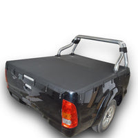 Toyota Hilux SR5 A-Deck (Apr 2005 to Sept 2015) Extra Cab with Factory Sports Bars Bunji Tonneau Cover
