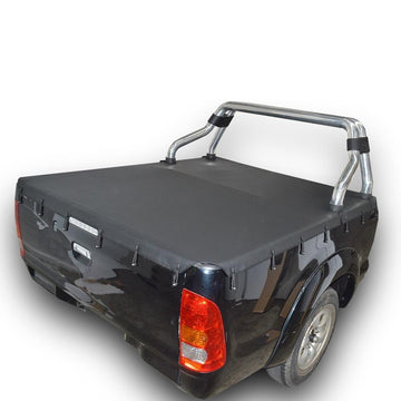 Bunji Ute/Tonneau Cover for Toyota Hilux SR5 A-Deck (Apr 2005 to Sept 2015) Extra Cab suits Factory Sports Bars