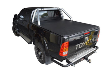 Toyota Hilux SR5 A-Deck (Apr 2005 to Sept 2015) Extra Cab with Factory Sports Bars ClipOn Tonneau Cover