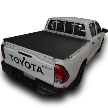 ClipOn Ute/Tonneau Cover for Toyota Hilux J-Deck (Oct 2015 to Current) Double Cab suits Headboard
