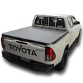 Toyota Hilux J-Deck (Oct 2015 Onwards) Double Cab with Headboard Rope Tonneau Cover
