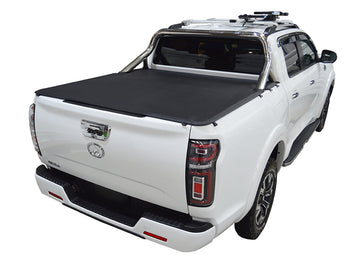 ClipOn Ute/Tonneau Cover for Great Wall Cannon-L or Cannon-X (2021 Onwards) Dual Cab suits Factory Sports Bars and Factory Tailgate Step