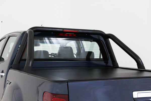 Isuzu D-Max (July 2012 Onwards) Crew Cab with Factory Sports Bars Roll R Cover