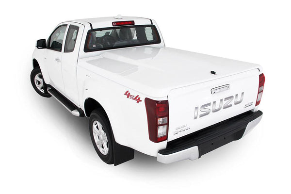 Isuzu D-Max (July 2012 Onwards) Space Cab Single Center Lock Premium Hard Lid
