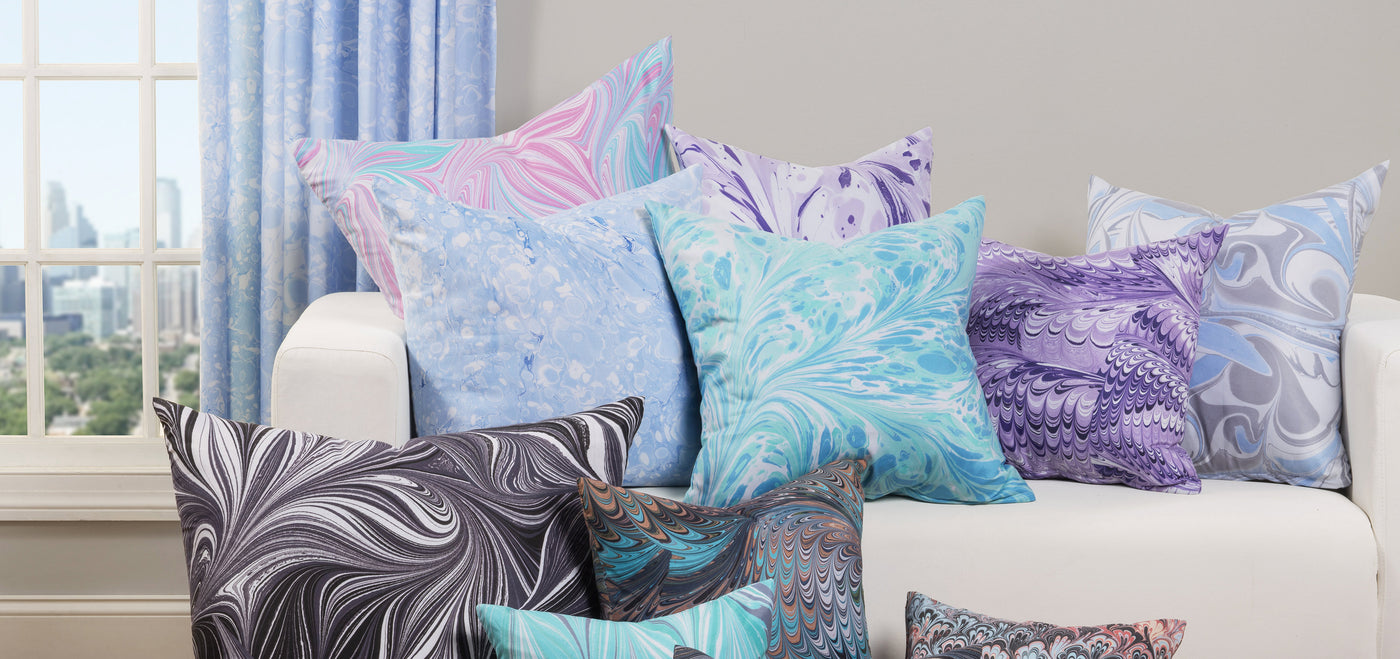 Print Pillow Shams