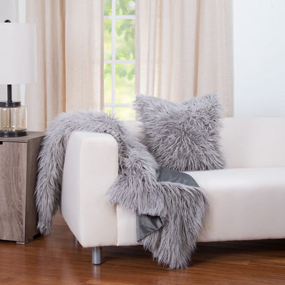$15 Off Faux Fur Pillow Covers