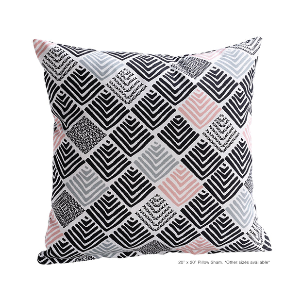 Boomerang Pillow Cover - The Futon Cover Company