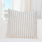Burlap Ivory Pillow Cover - The Futon Cover Company