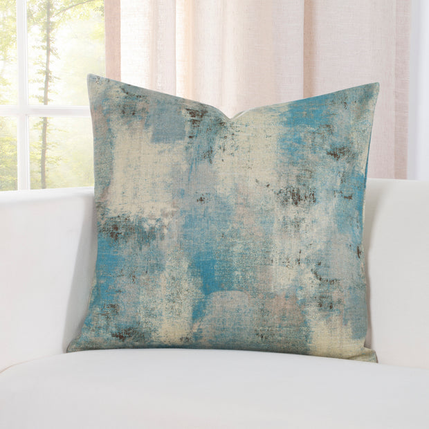 Calcutta Teal Pillow Cover - The Futon Cover Company