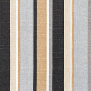 Ebony Stripe Pillow Cover - The Futon Cover Company