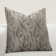 Fine Point Graphite Pillow Cover - The Futon Cover Company