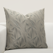 Fine Point Mineral Pillow Cover - The Futon Cover Company