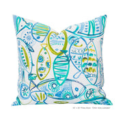 Guppy Pillow Cover - The Futon Cover Company