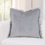 Llama Silver Pillow Cover - The Futon Cover Company