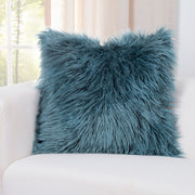 Llama Teal Pillow Cover - The Futon Cover Company