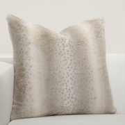 Night On The Town Faux Fur Pillow Cover - The Futon Cover Company